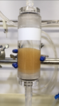 意外と知らない●強塩基性アニオン交換樹脂のイオン形変化に伴う体積と色の変化